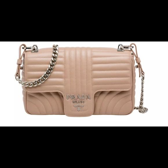 124cbdc3ea71d8 Prada Bags   New Medium Diagramme Leather Shoulder Bag   Poshmark